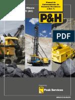 Pala Eléctrica Minera P&H 4100 XPC (AC) Libro 1