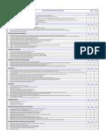 LVS 001 REV. 00 - Check List de Máquinas Equipamentos Ambientes e Postos de Trabalho