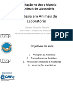 Anestesia em animais de laboratório