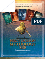 Percy Jackson Mythology Bee