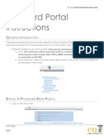 Password Portal Instructions