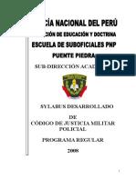 SILABO DE CJMP IIIS