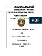 Silabo DE ARMAMENTO REG y TEC
