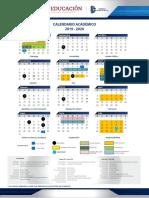 Calendario Academico 2019-2020