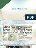 Regimul Atonescian