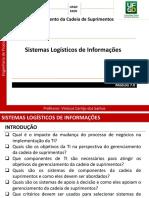 Módulo 7.0 - Sistemas Logísticos de Informações