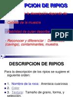 Descripcion de Ripios