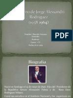 gobierno de Jorge Alexandri Rodriguez