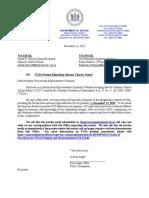 Response Letter from Delaware DOJ to Odyssey Charter School #1