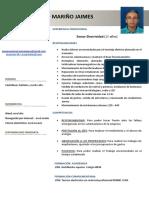 Modelo Curriculum ESPAÑA