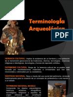 TERMINOLOGÍA ARQUEOLÓGICA