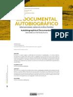 El Documental Autobiográfico. Intervenciones Sobre El Archivo Familiar
