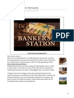 Monopoly bankers Station