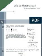 Asesoría de Matemática I-11-4.....