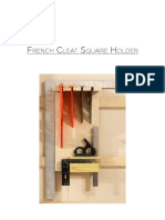 French Cleat Square Holder Plans