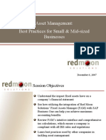Asset Management Best Practices