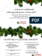 Catalog platouri Craciun 2019