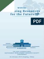 Proceedings Isdrs2019 Full Paper