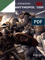 Historyczne Bitwy 206 - Konstantynopol 1204, Sławomir Leśniewski.pdf