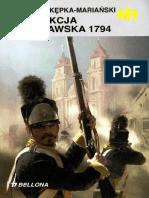Historyczne Bitwy 209 - Insurekcja Warszawska 1794, Wojciech Kępka-Mariański.pdf