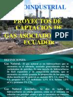 Petroindustrialproyectos de Captacion de Gas Asociado en El Ecuador