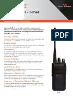Vertex. Radio portátil VZ30