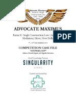 Advocate Maximus 2019