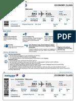 Boarding Pass/ org chart