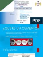EXPO MATERIALES DE CEMENTACION.pptx