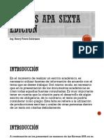 Normas Apa 6ta Edición