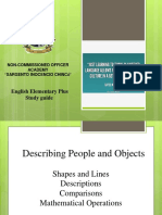 1 Describing People and Objects
