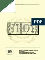 Modelo de Pensiones de La OIT . Una Guía Técnica