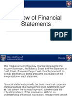 2.2. Review of Financial Statements