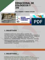 Curso Internacional de Riesgos Geologicos y Geotecnicos