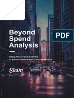 Beyond Spend Analysis
