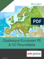 Opalesque European PE & VC Roundtable 2019