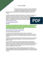 Proyecto Granadilla