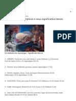 86 Símbolos Apocalípticos e Seus Significados Literais