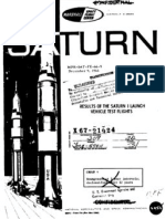 Results of Saturn I Launch Vehicle Test Flights