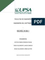 APLICACION DE LA NORMA ISO 9126
