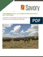 MH 8 - Fundamentos de La Planificacion Holistica Del Pastoreo - 2016 Sp (1)