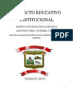 PROYECTO EDUCATIVO INSTITUCIONAL 2010