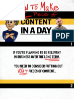 Gray Vee - How To Create 64 Pieces of Content In A Day