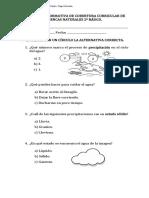FORMATIVA CURRICULAR CIENCIAS 2º