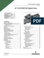 Instruction Manual Fisher Fieldvue Dvc6200 Sis Digital Valve Controller en 122736