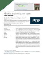 tuberculosis depression