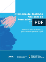 Informe de gestion - INFoD