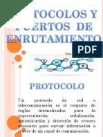Protocolos y Puertos de Enrutamiento