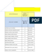 INFORME DE REPORTE DE INCAPACIDADES