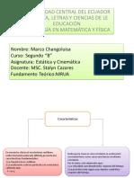 Fundamento Teorico de MRUA